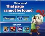 Disney 404 page