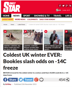 Daily Star Weather