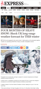 Daily express worse winter ever